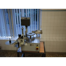 Rota ampoule and vial label machine RE25